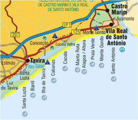 Algarve Beaches Portugal LuzInfocom - Portugal map beaches