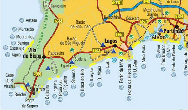 Algarve Beaches  Portugal  LuzInfocom